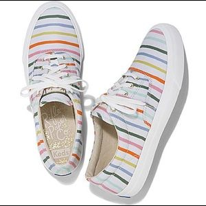 Ked's x Rifle Paper Co Anchor Happy Stripe Shoes